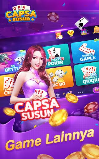 Capsa Susun Online:Domino Gaple Poker Free  screenshots 1