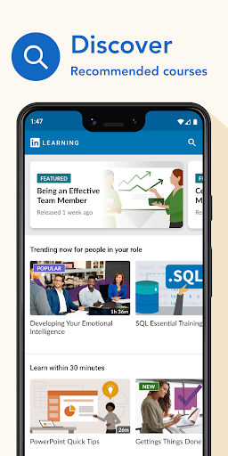 LinkedIn Learning: Online Courses to Learn Skills 0.163.25 Screenshots 1