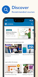 LinkedIn Learning: Online Courses to Learn Skills Screenshot