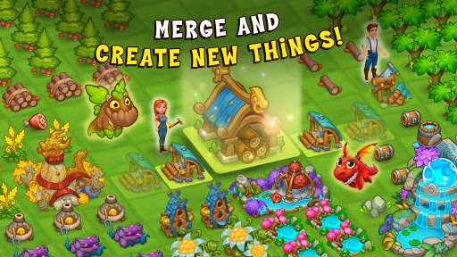 Merge World Above: Dragon games 8.0.8381 screenshots 18