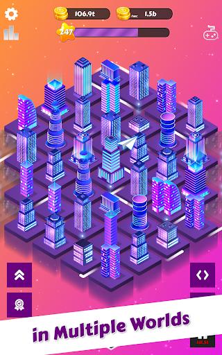 Merge City: idle city building game  screenshots 6