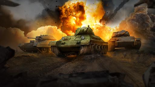 Grand Tanks: Free Second World War of Tank Games  screenshots 1