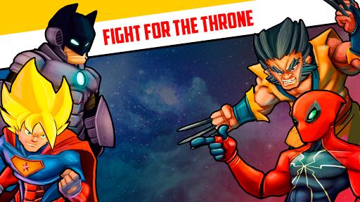 Superheroes League - Free fighting games 2.1 screenshots 14