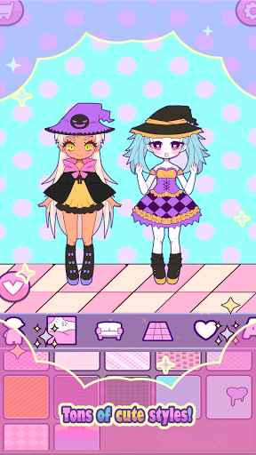 Mimistar: Dress Up chibi Pastel Doll avatar maker apkdebit screenshots 13