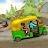 Special Tuk Tuk 0ffroad Driving Rickshaw Passenger