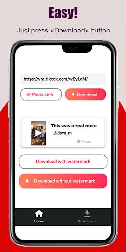 TikTok Video Downloader No Watermark - sssTik  screenshots 1