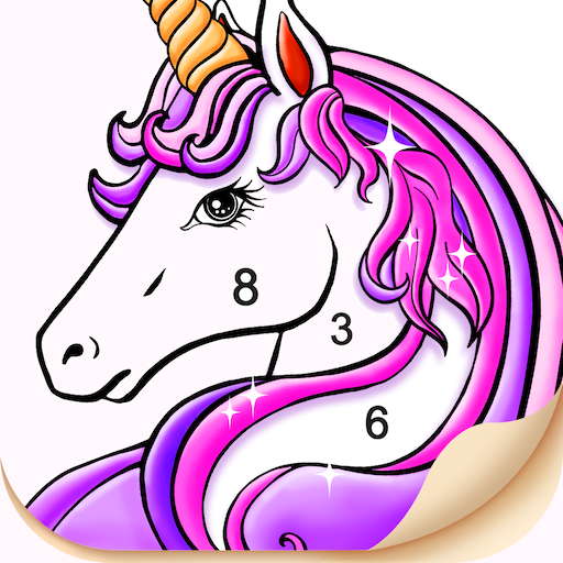Tap Color- Color by Number Art Coloring Game