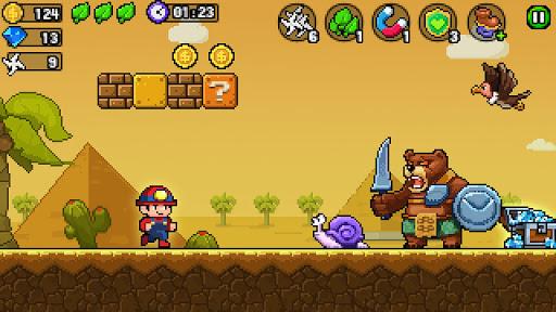 Pixel World - Super Run  screenshots 4