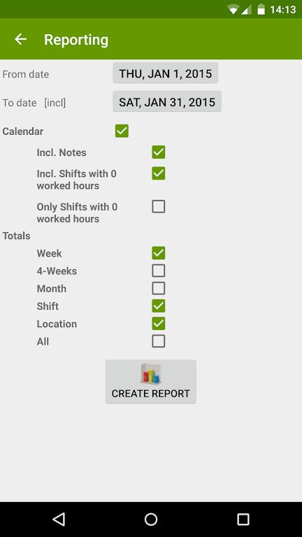 Shift Work Calendar (FlexR Pro)  poster 6