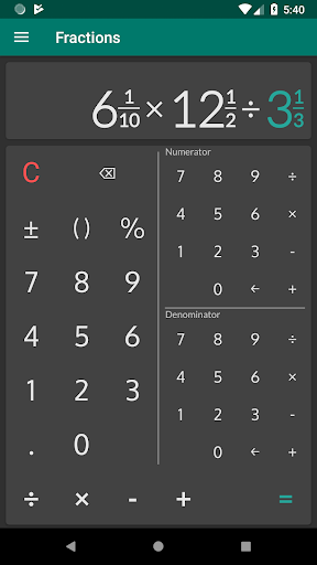 Fractions - calculate and compare 2.18 Screenshots 6