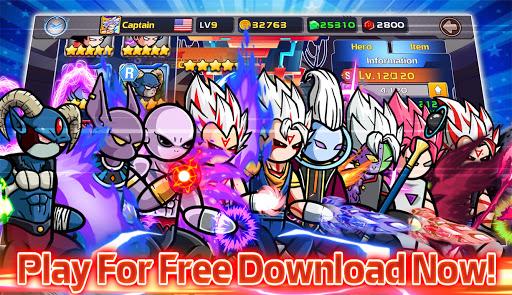 Stickman PvP Online - Dragon Shadow Warriors Fight  screenshots 16