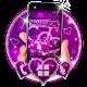 Neon Purple Sparkling Love Heart Download for PC Windows 10/8/7
