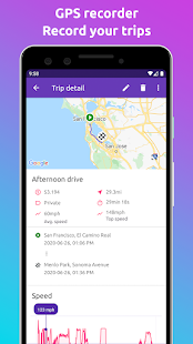 Fuelio: gas log, costs, car management, GPS routes Screenshot