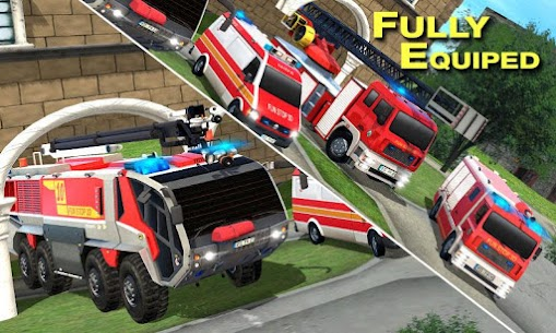 Real Firefighter Training 2020 – Fire Truck Rescue 2