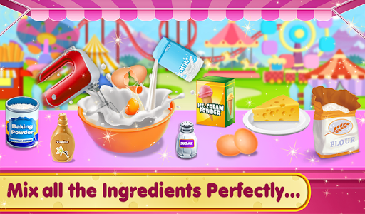 Doll Ice Cream Cake Baking 2019: World Food Maker 1.0.05 screenshots 7