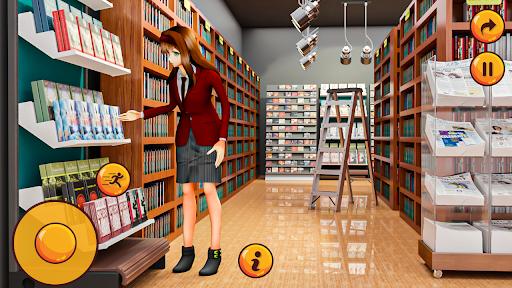 High School Girl Simulator u2013 Virtual School Life apktram screenshots 1