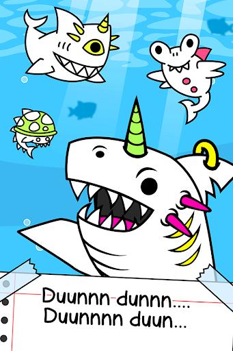 Shark Evolution - Fierce Shark Making Clicker screenshots 1