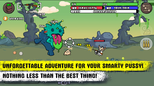 Cat Shooting War: Offline Mario Gunner TD Battles 1.58 screenshots 2
