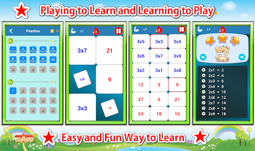 Free Multiplication Tables Challenge (Math Games) 2