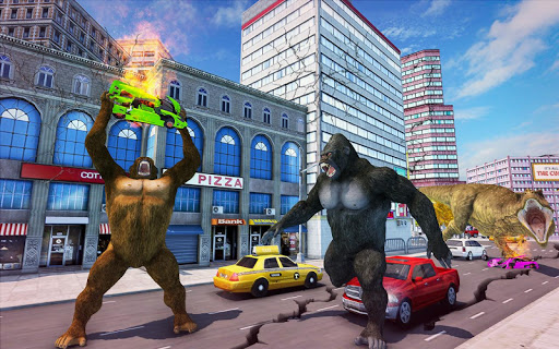 Crazy Gorilla GT Parkour-Superhero Mega Ramp Stunt screenshots 4