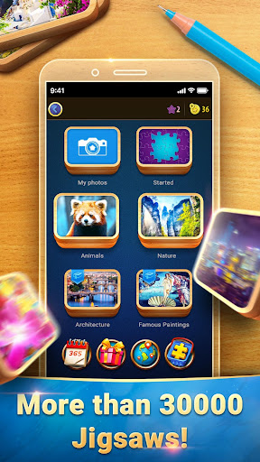 Magic Jigsaw Puzzles screenshots 2