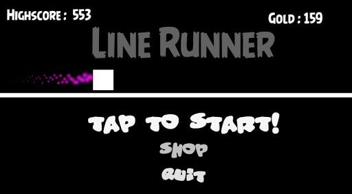 line runner : space screenshot 1