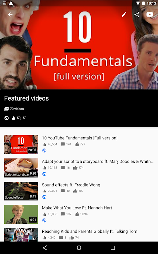 YouTube Studio 20.47.101 Screenshots 15