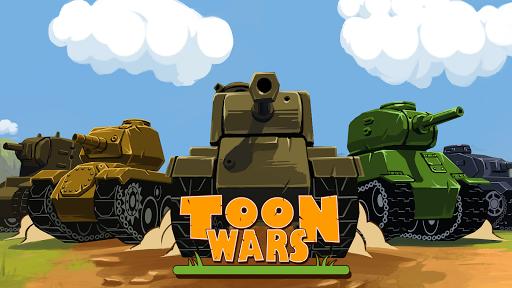 Toon Wars: Awesome PvP Tank Games  screenshots 15
