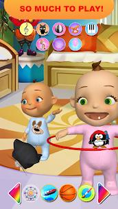 Bebek ikiz Yenidoğan Eğlence Talking Apk İndir 5