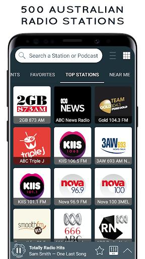 radio australia: online radio & fm radio app screenshot 1