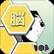 脳ブロ:四角い頭を丸くする暇つぶしゲーム - Androidアプリ