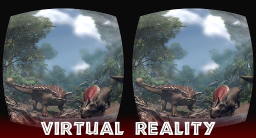 VR Jurassic - Dino Park & Roller Coaster Simulator apktram screenshots 4