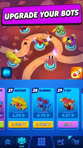 Merge Tower Bots apkslow screenshots 5