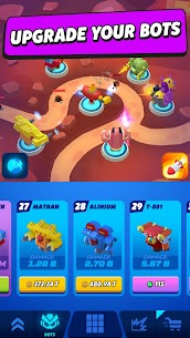 Merge Tower Bots Mod Apk (Unlimited Money) 5