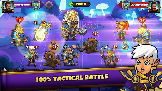 Duel Heroes CCG: Card Battle Arena Screenshot
