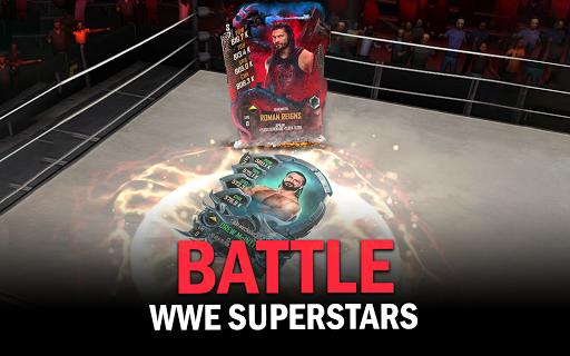 WWE SuperCard - Multiplayer Collector Card Game Apkfinish screenshots 8