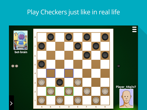 Checkers Online: Classic board game screenshots 1