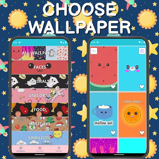 Cute Wallpapers ud83dudc9c Kawaii 4.2101.2 Screenshots 7