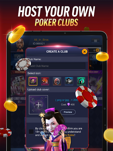 PokerBROS: Play Texas Holdem Online with Friends  Screenshots 21