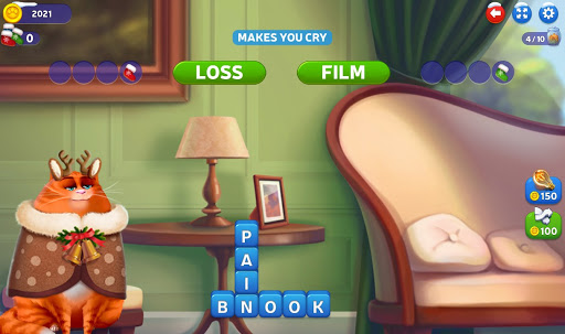 u2764ufe0fKitty Scramble: Word Stacks android2mod screenshots 5