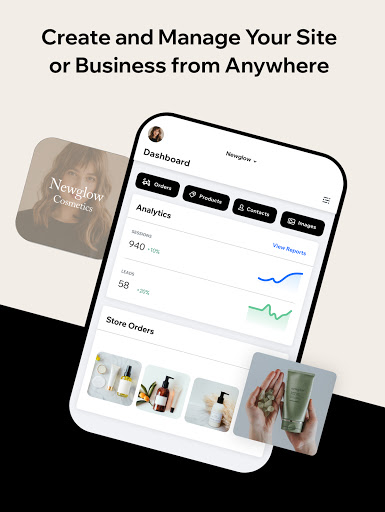Wix Owner: Build Websites, Stores, Blogs and more modavailable screenshots 8