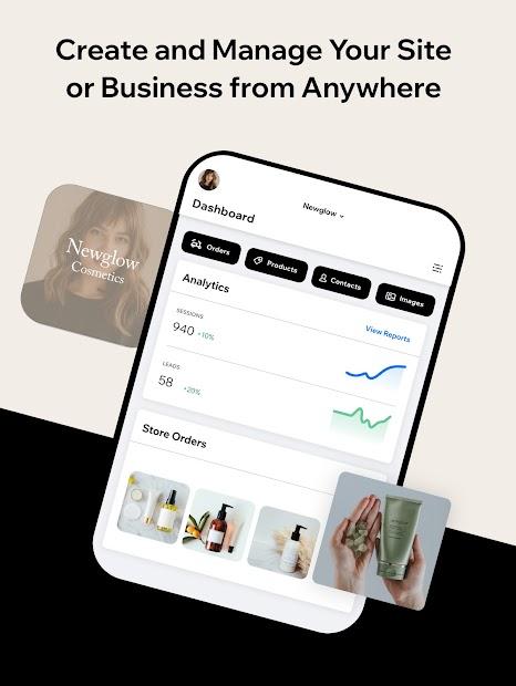 Imágen 9 de Wix Owner: crea sitios, tiendas online o blogs para android