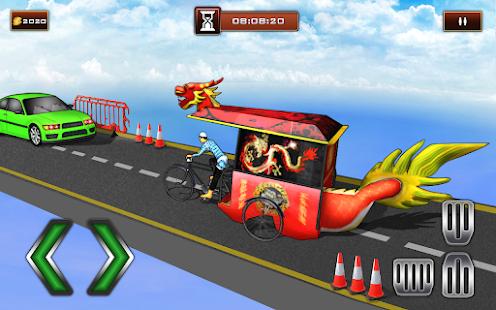 Bicycle Rickshaw Simulator 2019 : Taxi Game 4.0 Screenshots 4