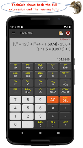 TechCalc Scientific Calculator apktram screenshots 1