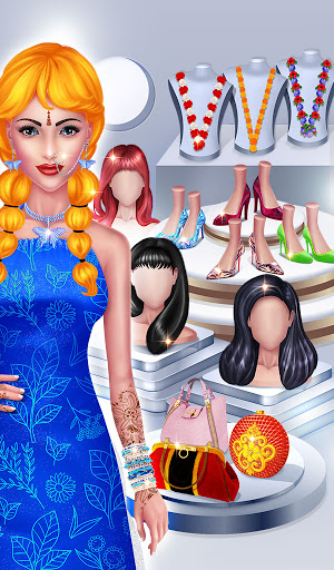 Wedding Fashion Stylist: Indian Dress up & Makeup 1.0 screenshots 16