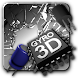 Cracked Screen Gyro 3D Parallax Wallpaper HD - Androidアプリ