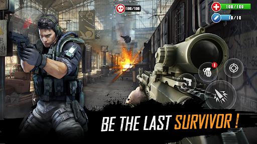 FPS Commando Strike Mission: Shooting Gun Games  screenshots 9