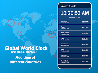 Global World Clock: Time Zone All Countries 4