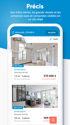 Logic-Immo – Achat et location immobilier 10.0.4 screenshots 1