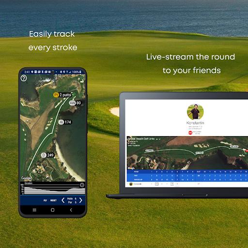 Golf GPS Rangefinder: Golf Pad android2mod screenshots 5